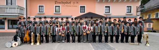 Die Musikkapelle Wörschach im Jahre 2013